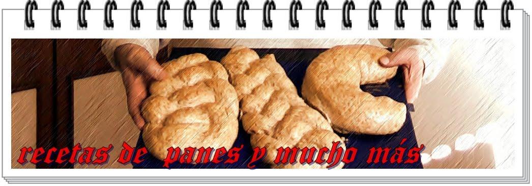 recetas de panes y mucho más