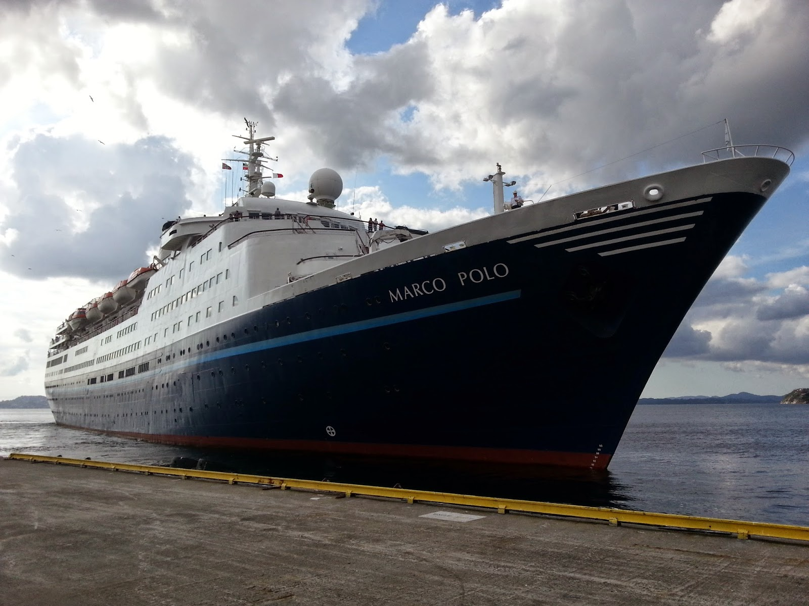 Cruise Ship Marco Polo in Bergen
