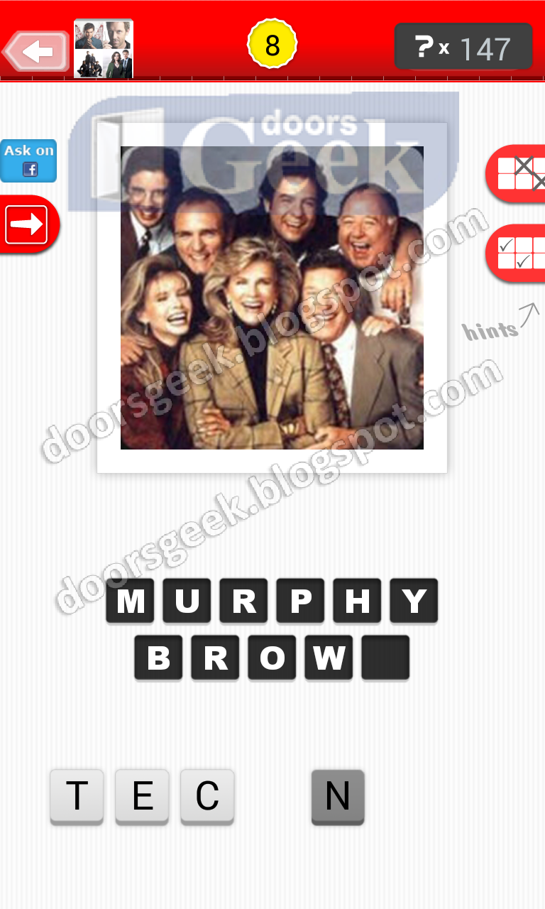 answer murphy brown guess the tv show level 21 8 answer cheats