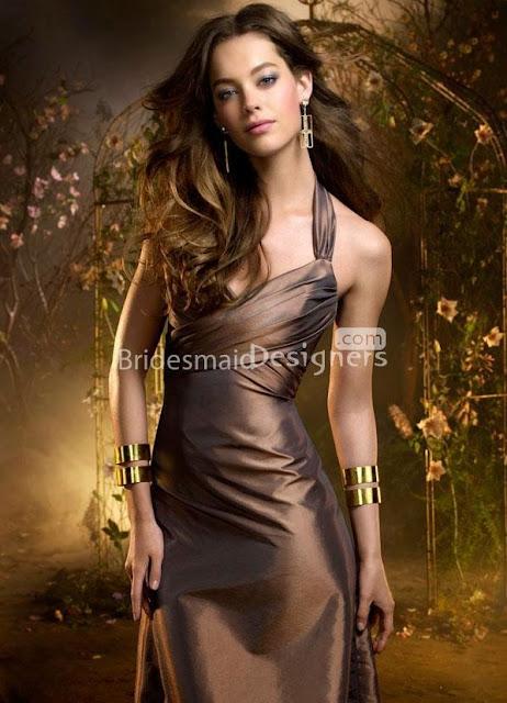 A halter dress