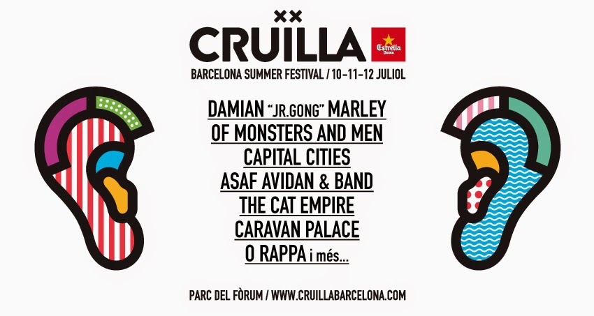 of monsters and men barcelona cruilla 2015 españa