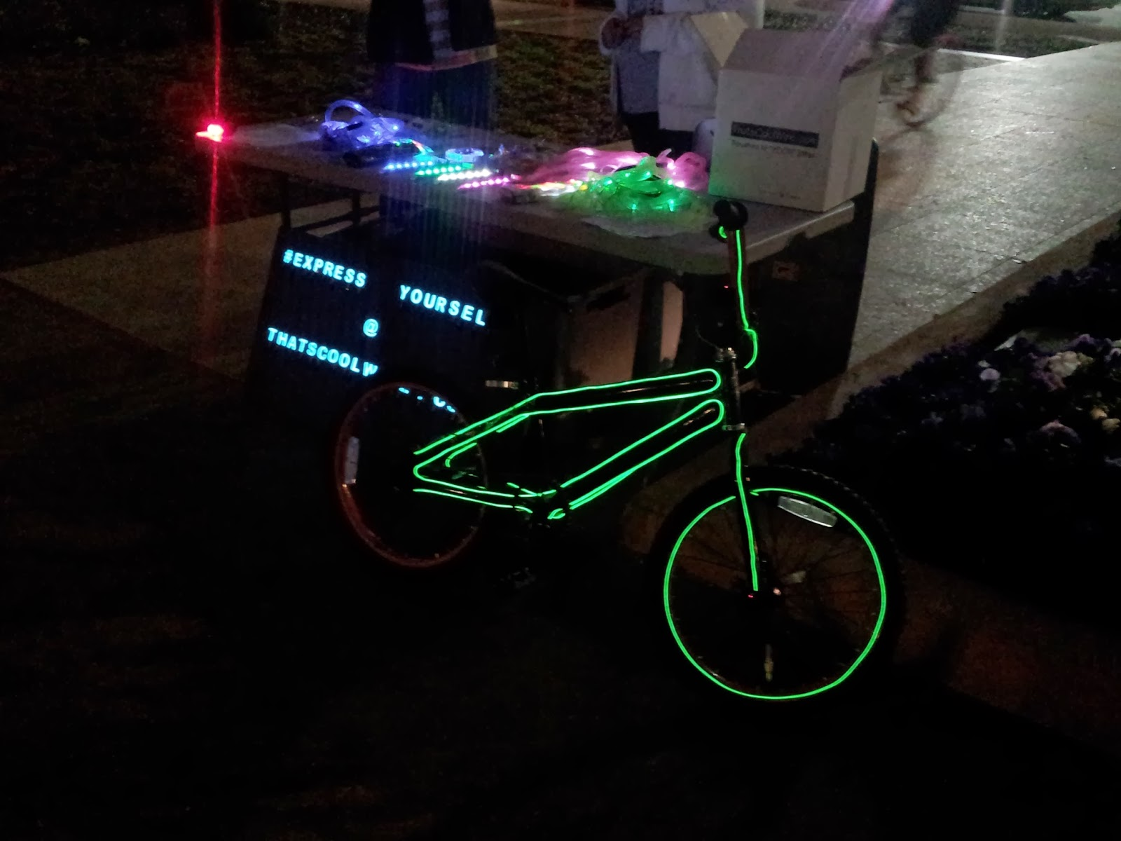 Lighted Bike