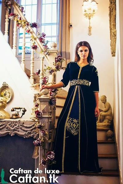 Caftan haute couture attrayant 2014