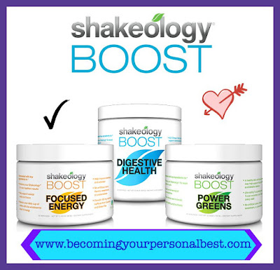 shakeology boost, becoming your personal best