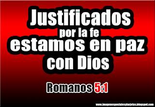 Imagenes Con Citas Biblicas Justificados Pues Por La Fe Tenemos Paz