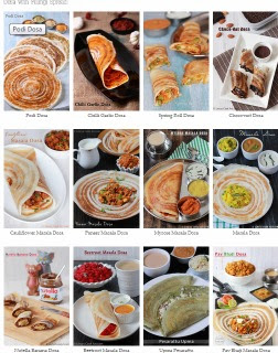 25+ Dosa Recipes