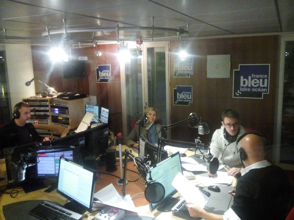 interview France Bleu Loire Océan