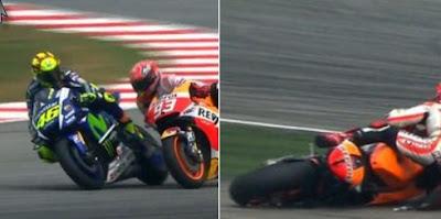Cuplikan Rossi Tentang Marquez, GP Malaysia 2015