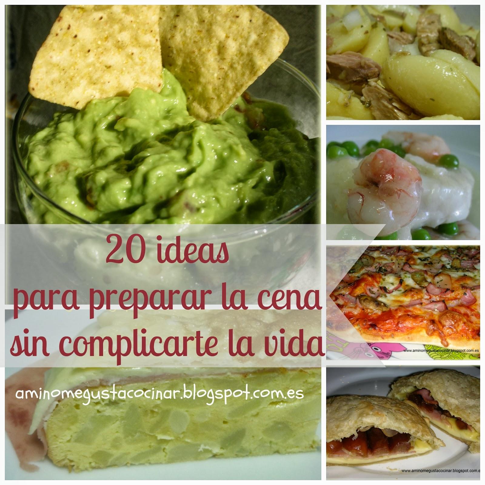 20 cenas muy f ciles for Cenas faciles