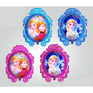 Balon Foil Cermin Dua Muka Frozen
