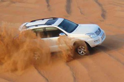 jeep safari Sand Dunes of Rajasthan India image,picture,photo
