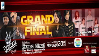 hasil grand final the voice indonesia 2 Juni 2013