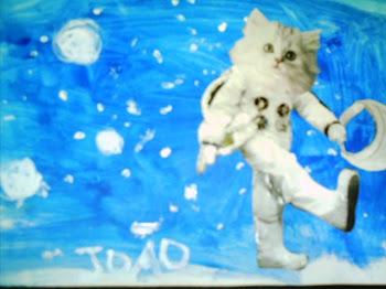 O Gato no Céu,João 5 anos