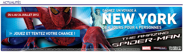 Jeu conforama Spider Man: voyage à New York de 4 jours à gagner