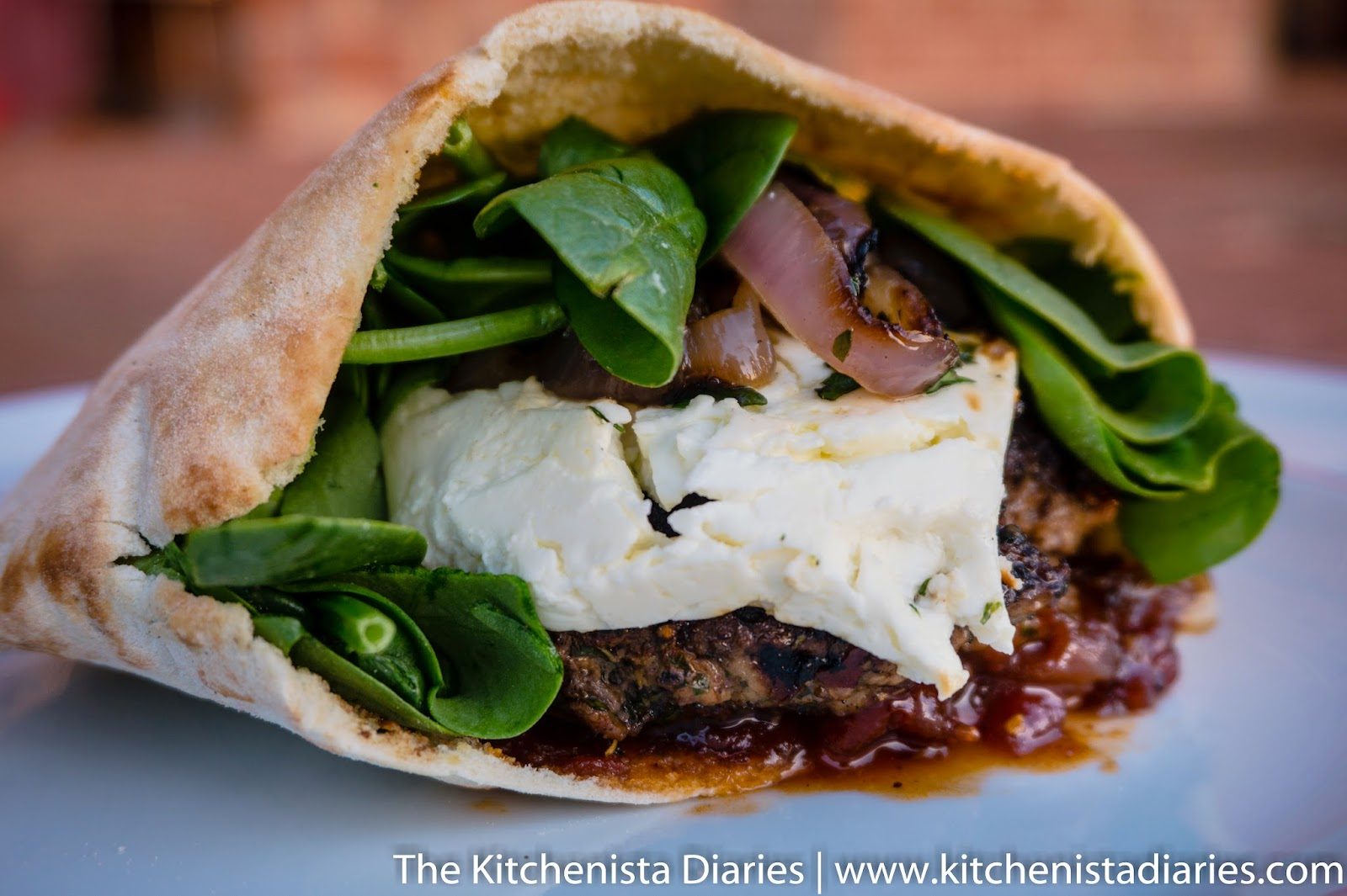 Mediterranean Lamb Burgers with Spiced Tomato Jam - The Kitchenista ...
