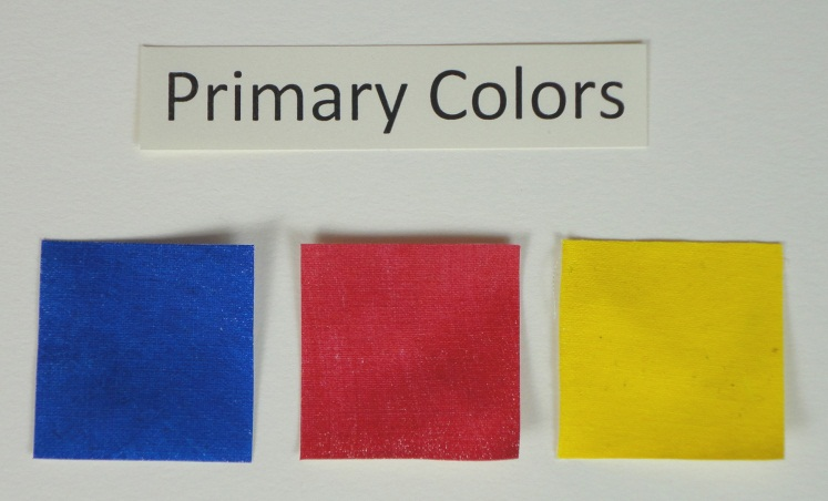 primary colors red blue yellow - Primary Colors Book