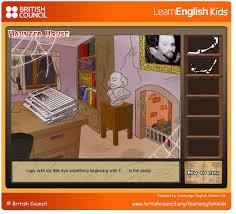 http://learnenglishkids.britishcouncil.org/en/fun-games/haunted-house