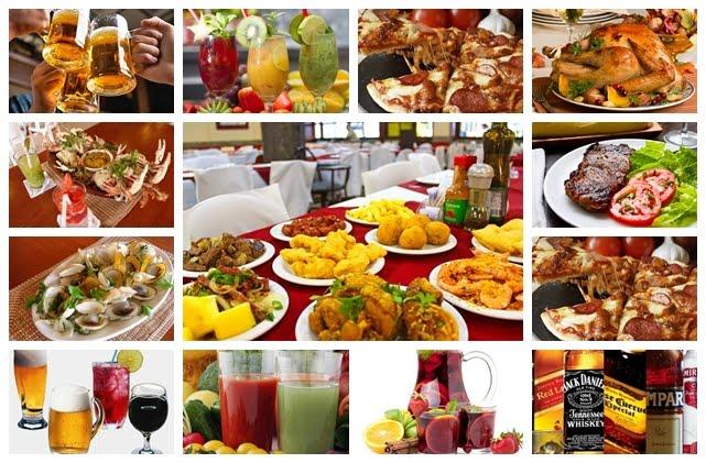 Alimentações e Bebidas (Fast e Food)