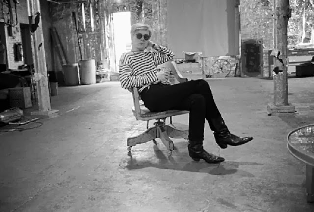 Andy Warhol in the Factory