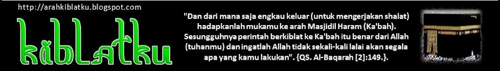 KIBLATKU - Subhannallah, Alangkah Mudahnya Mencari Arah Qiblat .