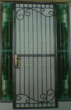 pintu teralis anti nyamuk