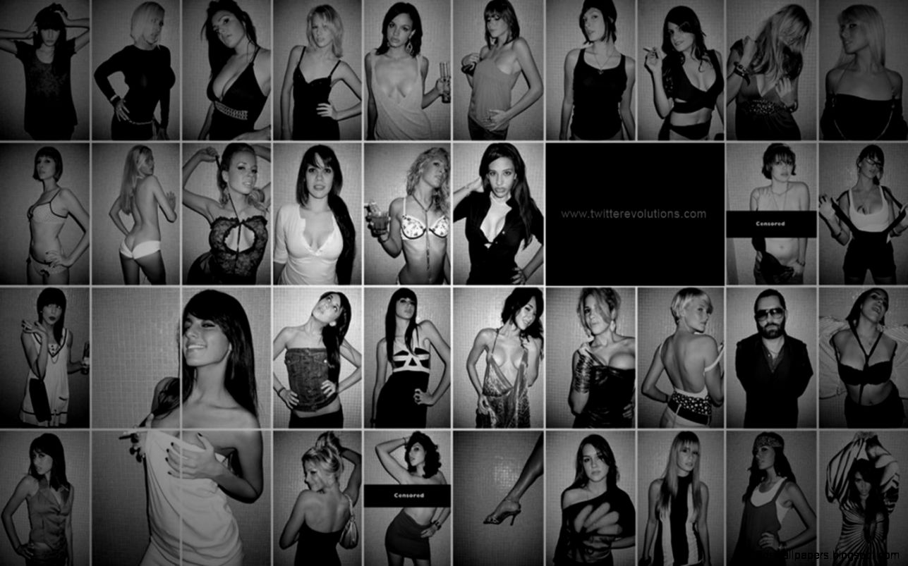 Girls showcase Twitter background   Twitterevolutions