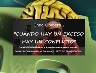 ENRIC CORBERA: CUANDO HAY UN EXCESO HAY UN CONFLICTO