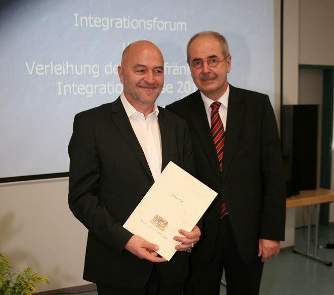 Mittelfränkischer Integrationspreis 2013