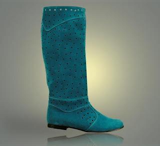 foto cu cizme albastre de primavara vara 2012 la comanda