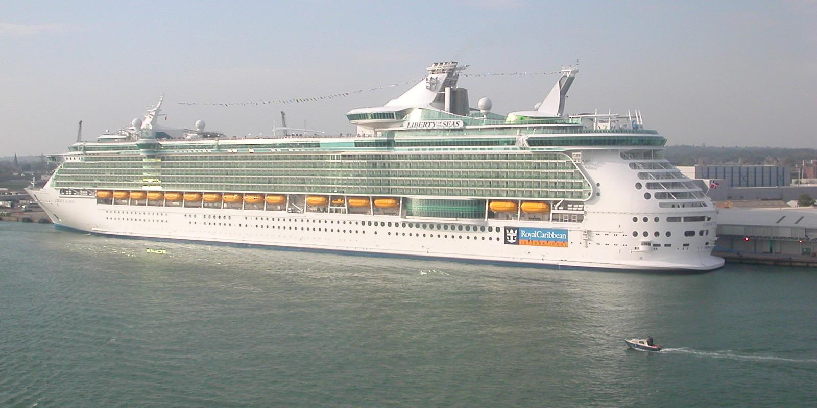 The Richest Things Top Largest Cruise Ships In The World - Top 10 biggest cruise ship