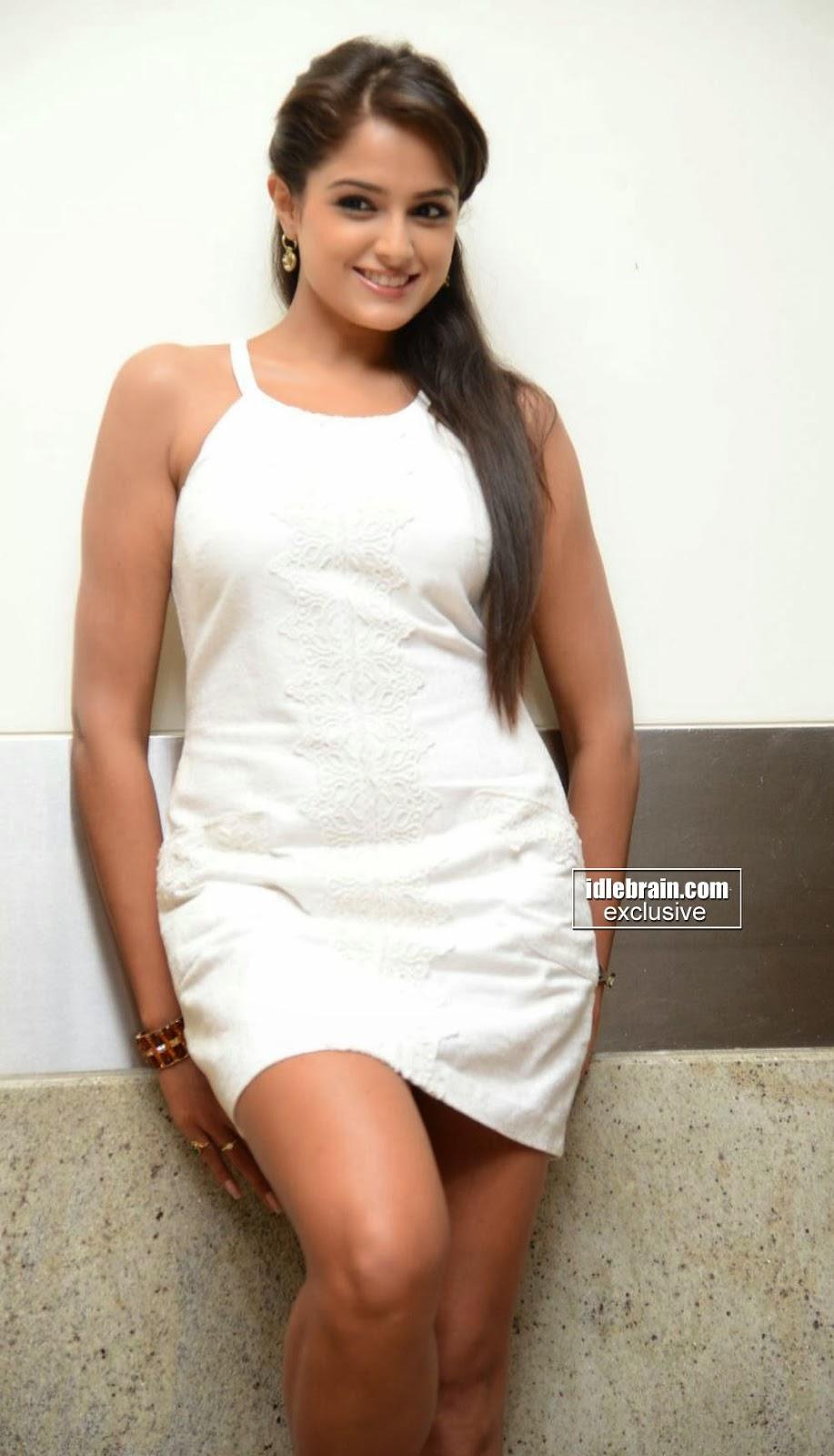 Sexy Asmita Sood Hot In White Short Dress gorgeous pics