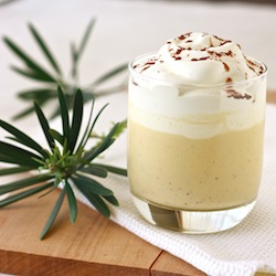 the best christmas eggnog with rum and spices vanilla bean, ceylon cinnamon, and freshly grated nutmeg