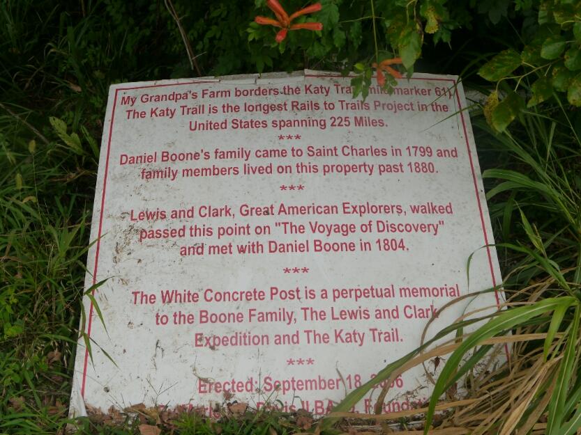 sign at abandoned farm
