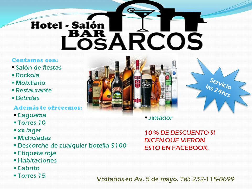 "Hotel Bar ""Los Arcos"""