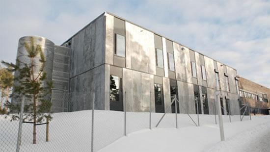 Revolusi Ilmiah - Tampak depan Penjara Halden di Norwegia