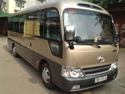 Phú Thành Trans cho thuê xe du lịch 29 chỗ tại Hà Nội