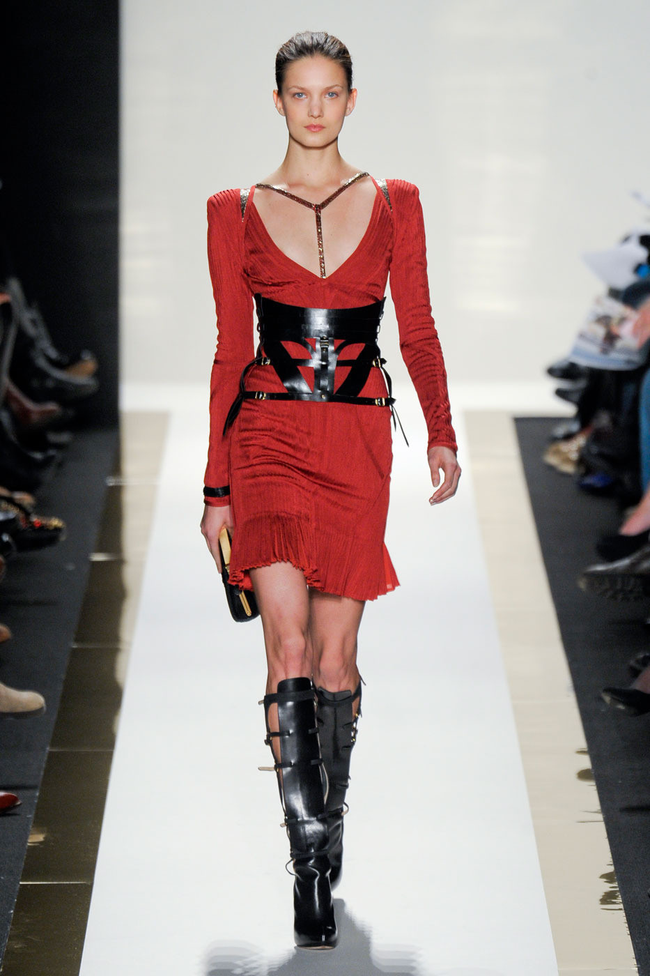 Herve Leger Fall/winter 2012 | red trend | inspiration
