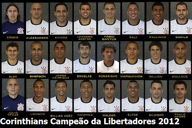 Poster Corinthians Campeão Libertadores 2012
