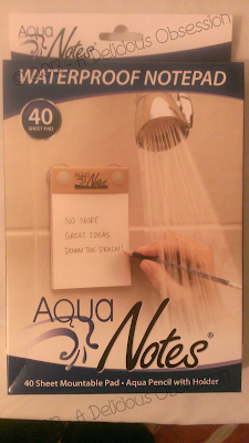 Aqua Notes Product Packaging