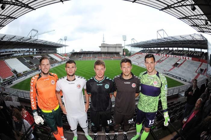St. Pauli apresenta os novos uniformes para a temporada 2014/2015