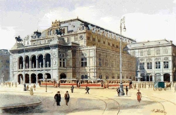 7 lukisan paling terkenal oleh Adolf Hitler - lensaglobe.blogspot.com