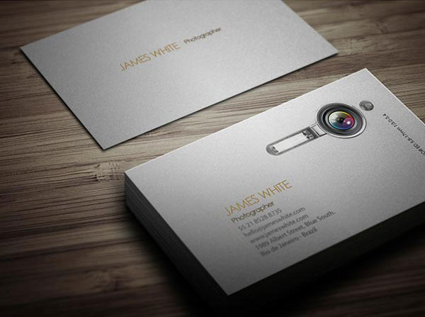 Business Card A Unique Photographer Creative Business Card 14