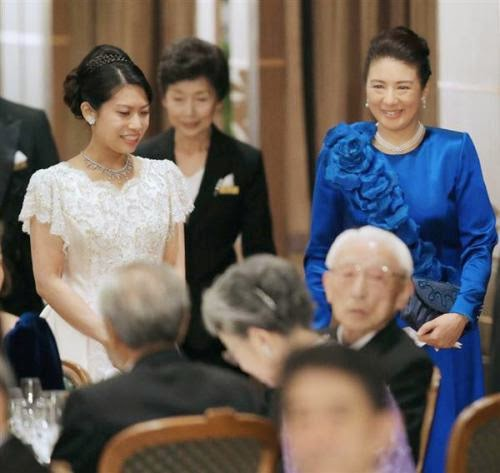 Mrs Noriko Senge (formerly Princess Norko) and HIH Crown Princess Masako
