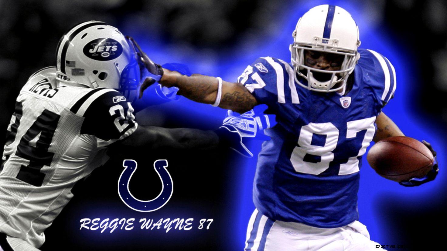 Wallpapers Nhl Nfl Reggie Wayne Indianapolis Colts No 1600x900
