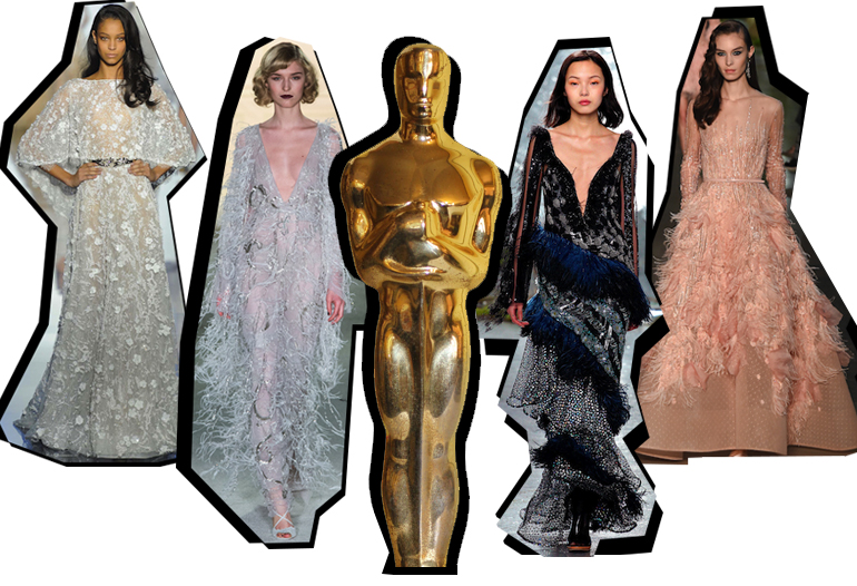 Oscars Red Carpet Fashion