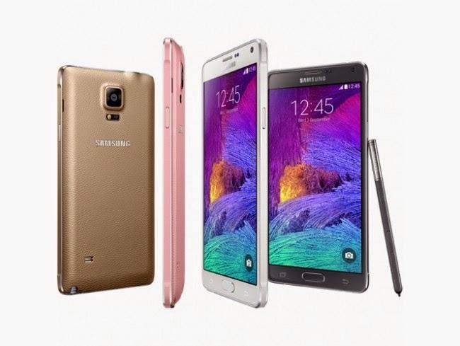 Мобильный телефон Samsung SM-N910C Galaxy Note 4 White в металлическом корпусе и защитным стеклом, предотвращающим его от царапин