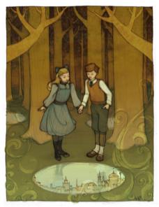 Digory y Polly, Las Crónicas de Narnia I