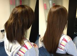 Celebrity micro ring extensions on short