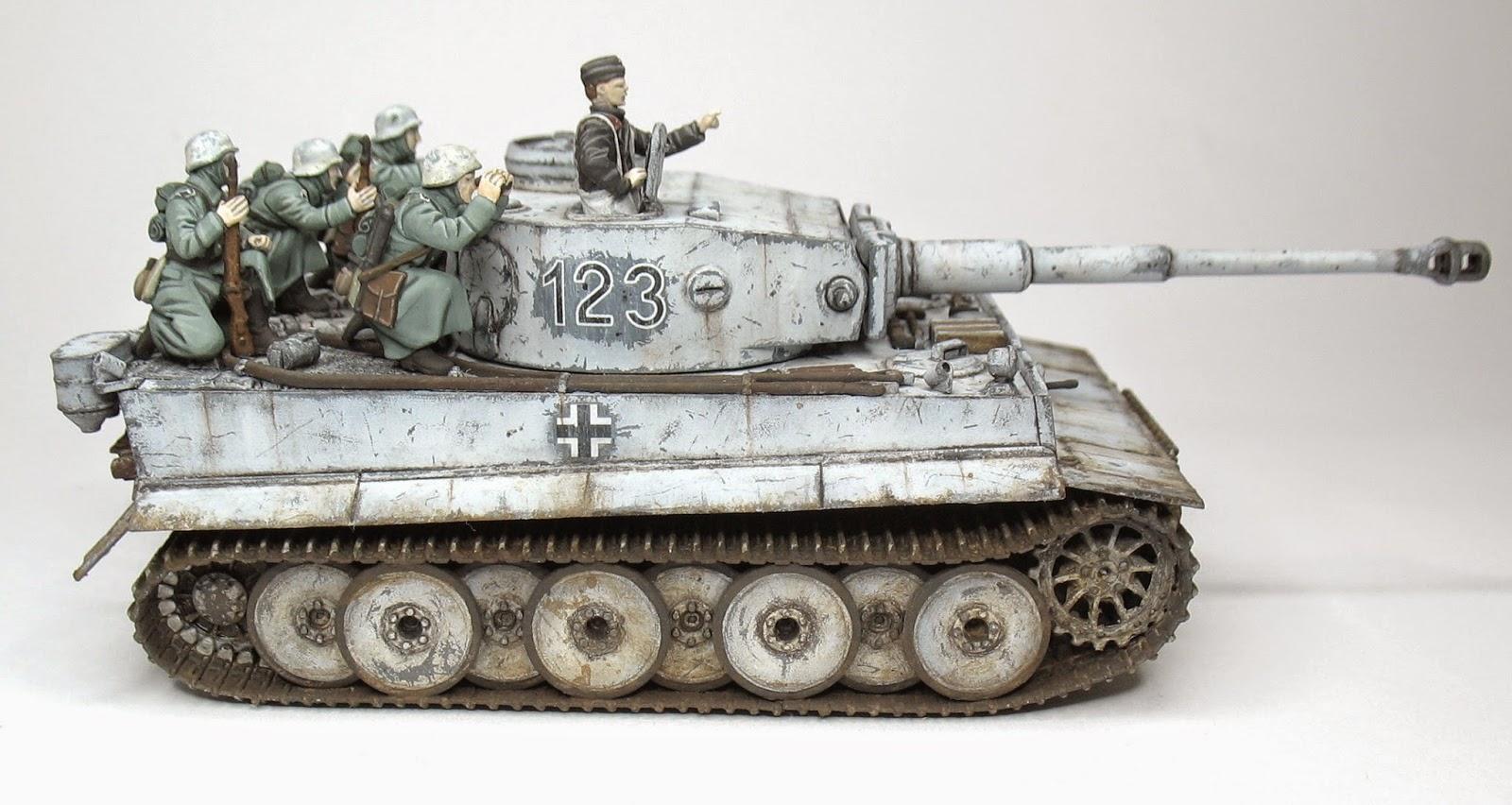 Model72 Miniatures  Pz Kpfw  Vi Tiger I Ausf  H Zvezda 1  72