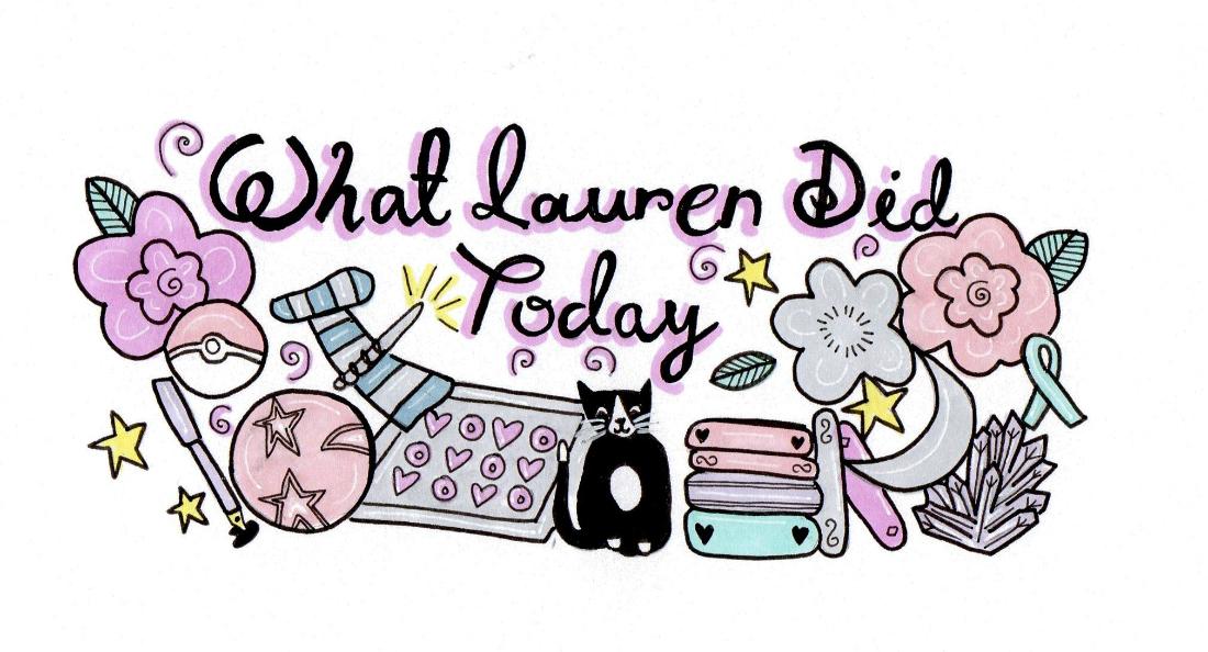 What Lauren Did Today